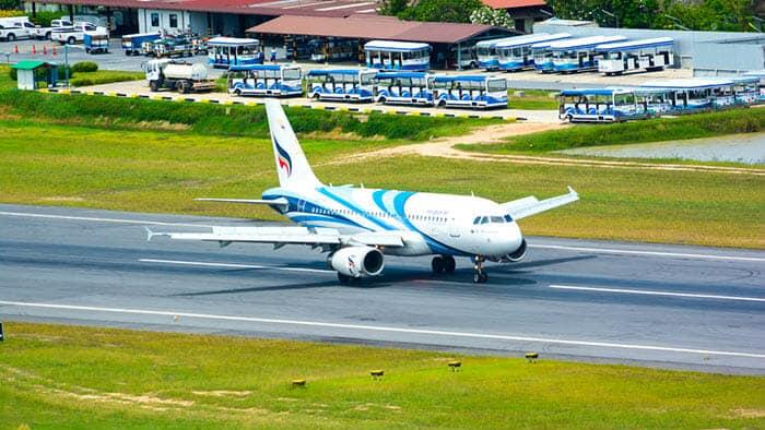 De Koh Samui à Bangkok en avion