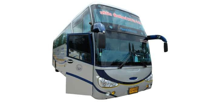 De Krabi à Phuket en bus
