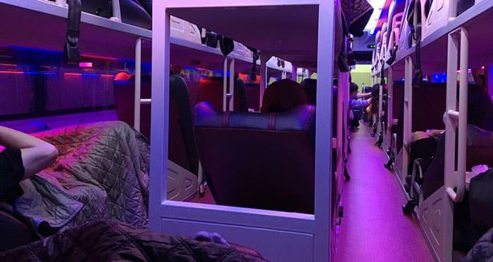 Un bus de nuit au Vietnam