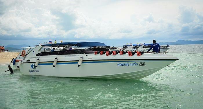 De Krabi à Phuket en hors-bord