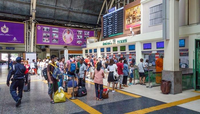 Où acheter des billets de train en Thaïlande