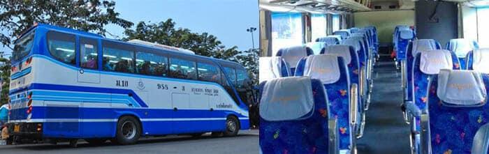 De Bangkok à Phitsanulok en bus