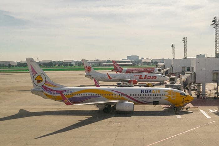 En avion de Bangkok à Phitsanulok