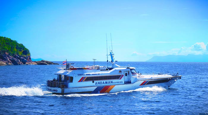 En ferry de Langkawi à Koh Lipe