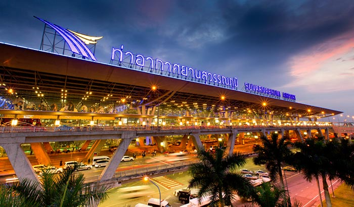 En avion de Bangkok à Yangon
