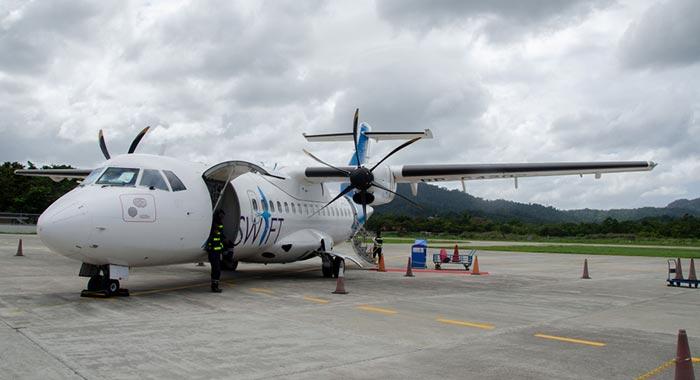 En avion de El Nido à Coron