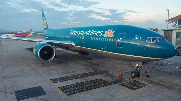 En avion de Ho Chi Minh à Hoi An