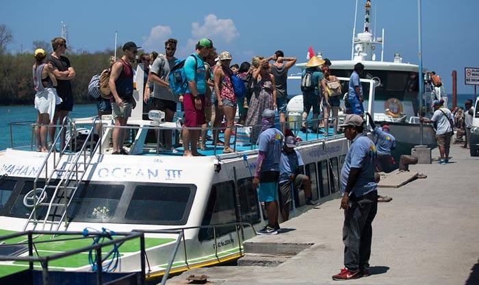 En ferry privé et hors-bord de Bali à Lombok