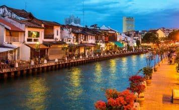 De Singapour à Malacca