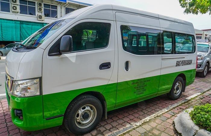 De Kuala Lumpur à Malacca en taxi