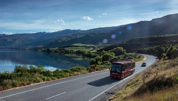 D'Auckland à Hamilton en bus