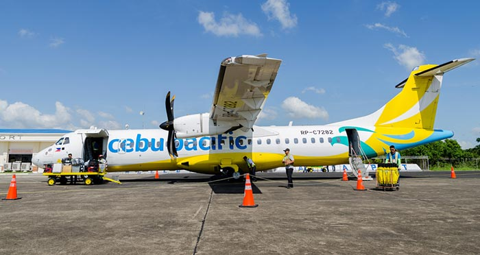 De Cebu à Dumaguete en avion