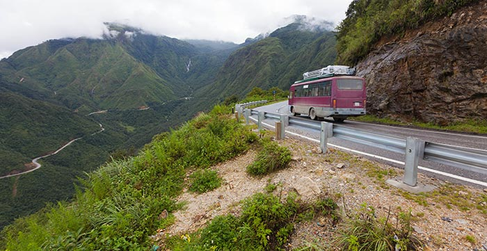 De Dalat à Hoi An en bus