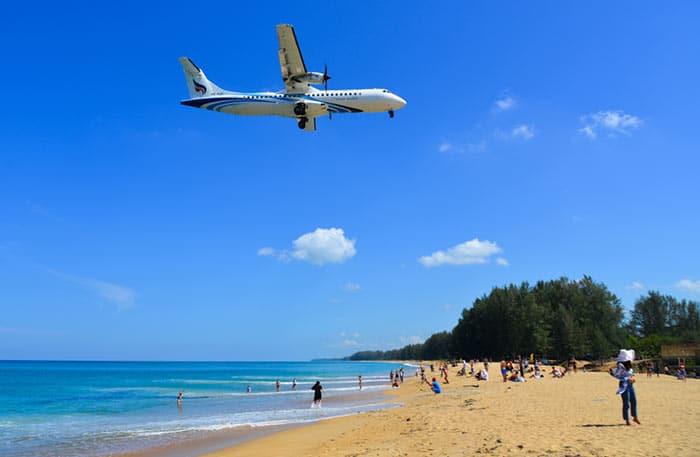 De Hat Yai à Phuket en avion