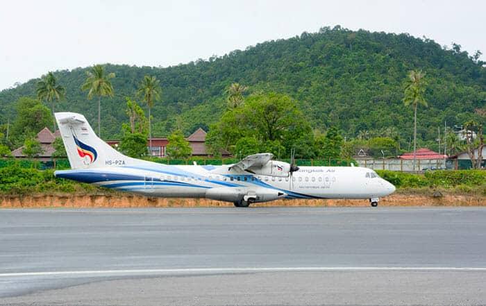 De Koh Samui à Koh Phi Phi en avion