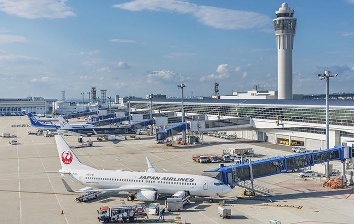 De Nagoya à Tokyo en avion