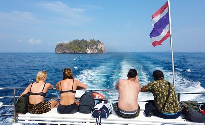 De Phuket à Ao Nang en ferry