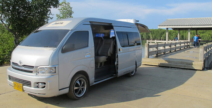 De Phuket à Ao Nang en taxi