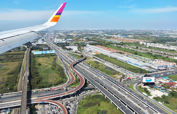 Vos options de voyage de l'Aéroport de Suvarnabhumi à Bangkok