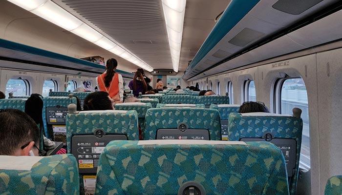De Taipei à Taichung en train