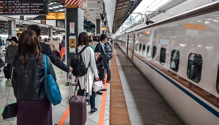 De Nagoya à Tokyo en train
