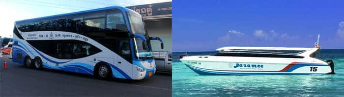 De Bangkok à Koh Lipe en bus et ferry