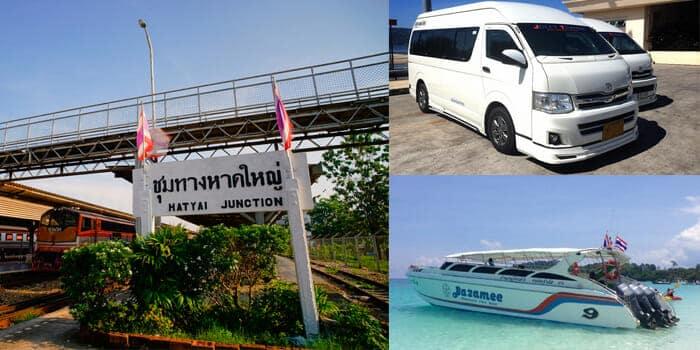 En train, van et ferry de Bangkok à Koh Lipe