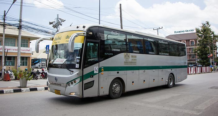 De Pai à Chiang Rai en bus