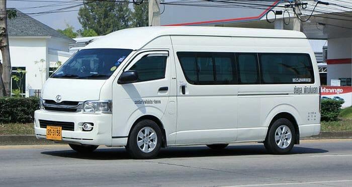 De Pai à Chiang Rai en van