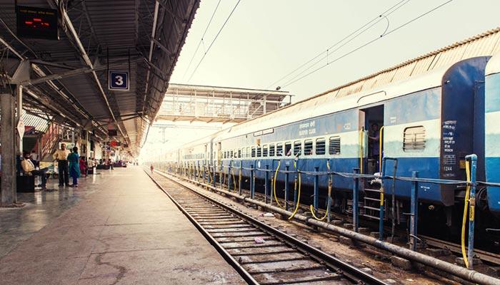 D'Agra à Jaipur en train