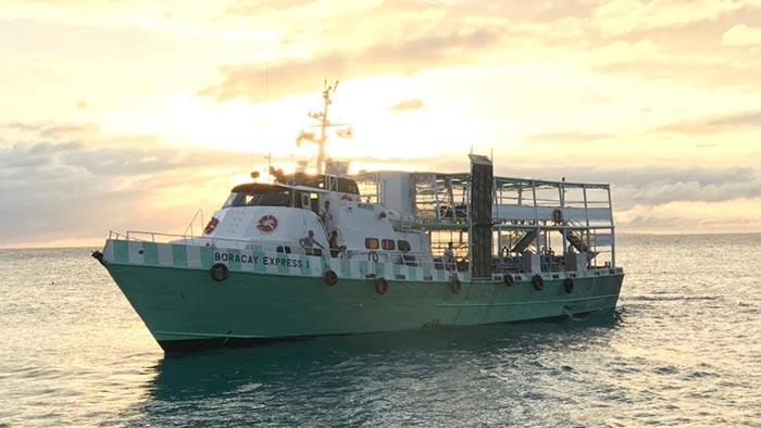 De Caticlan à Boracay en ferry