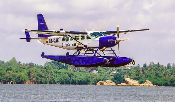 Vols de Colombo à Trincomalee