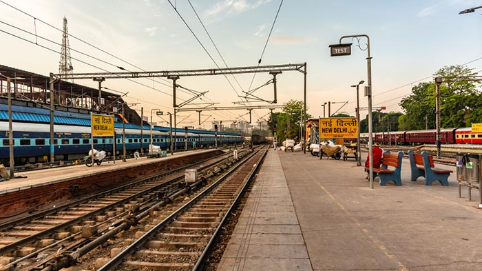 De Delhi à Uttarakhand en train