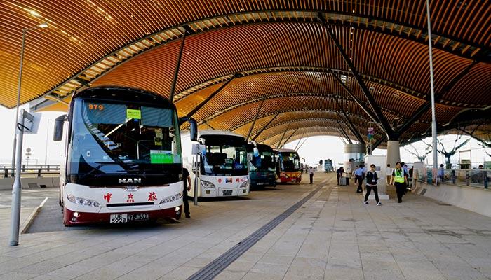 De Hong Kong à Macao en bus