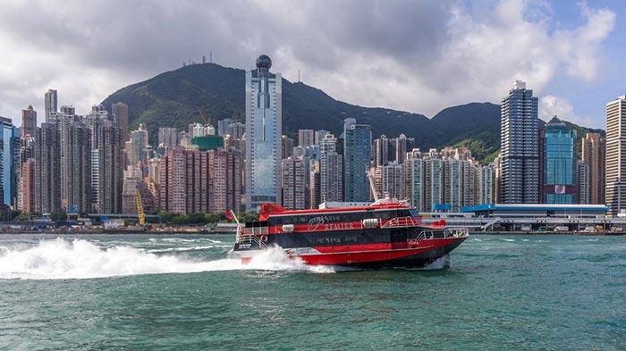 De Hong Kong à Macao en ferry