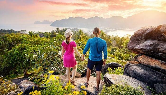 Vos options de voyage de Koh Phangan à Koh Phi Phi