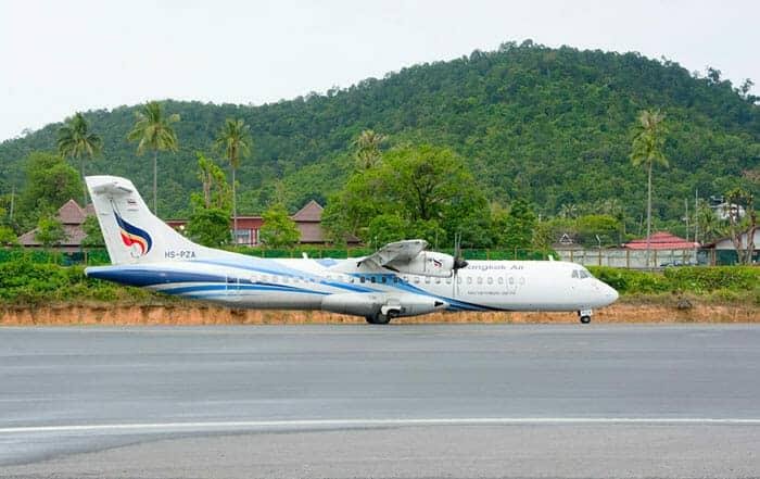 Vols de Koh Phangan à Koh Phi Phi
