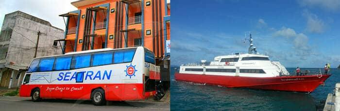 De Koh Tao à Koh Phi Phi en ferry et bus