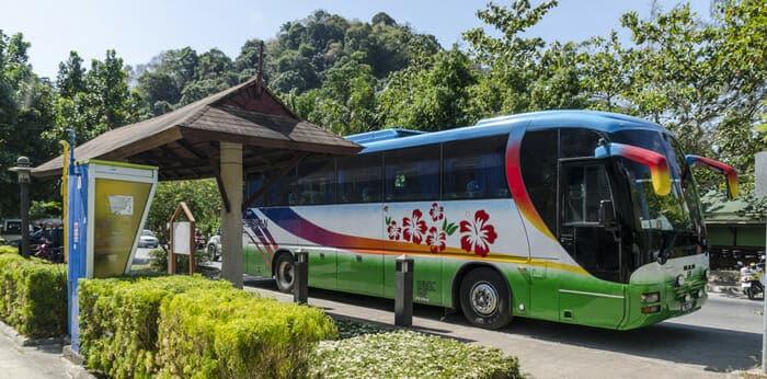 De Krabi à Khao Sok en bus