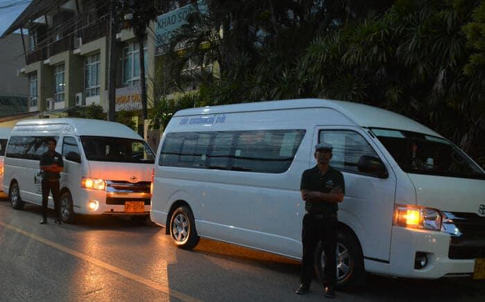 De Krabi à Khao Sok en van