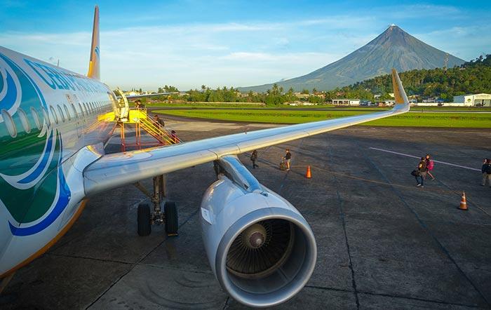 Vols de Manille à Legazpi