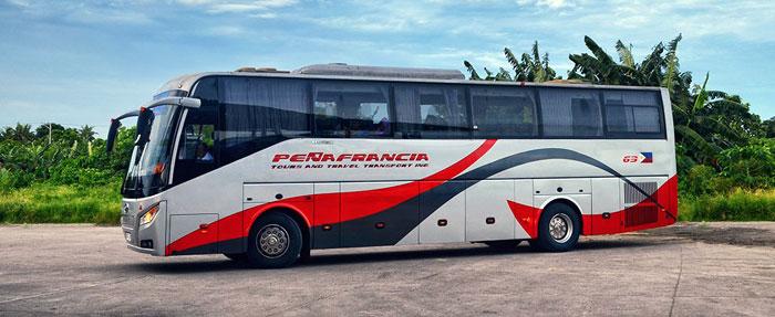 De Manille à Naga en bus