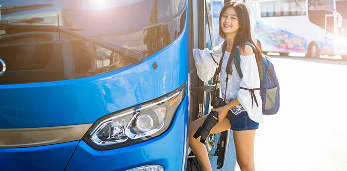De Manille à Tacloban en bus