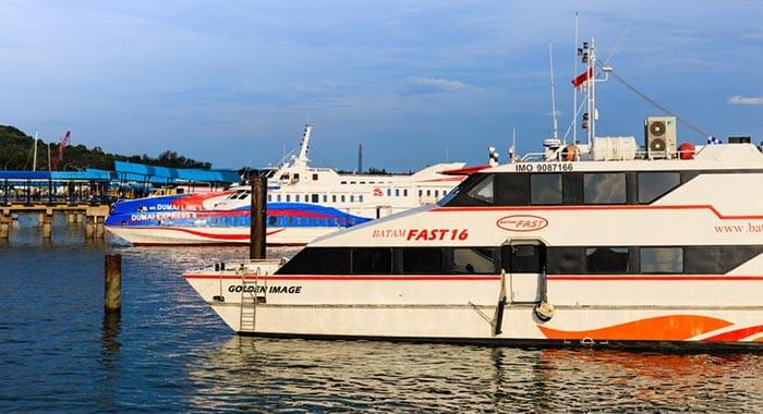 De Singapour à Batam en ferry