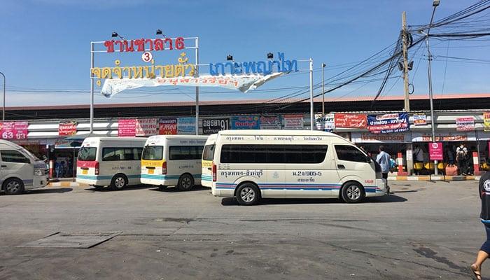 De Bangkok à Khao Yai en bus ou mini-van