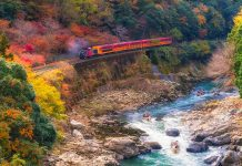Voyager en train au Japon
