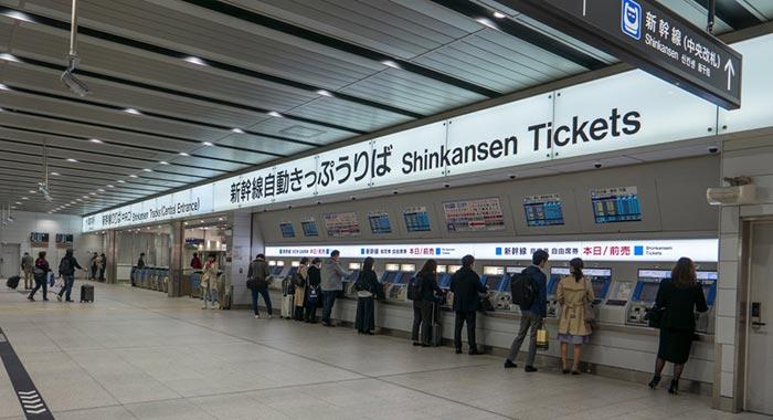 Où acheter vos billets de train au Japon