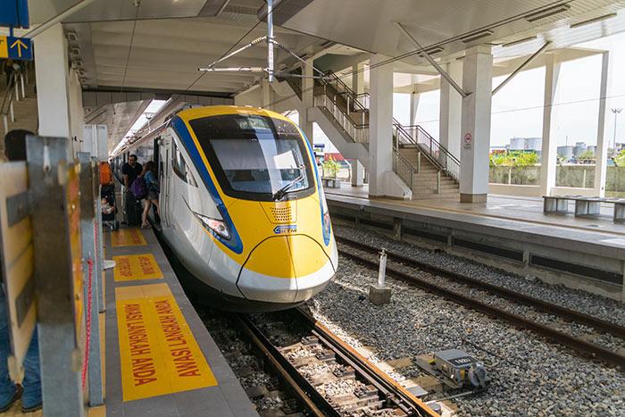 De Penang à Ipoh en train