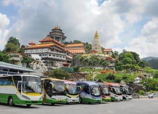 Voyager en bus en Malaisie
