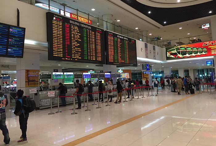 Où acheter vos tickets de bus en Malaisie
